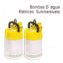 BOMBA D'ÁGUA ELÉTRICAS SUBMERSÍVEIS