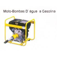 MOTO-BOMBAS D'ÁGUAS A GASOLINA